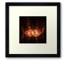 Abstract butterfly Framed Print