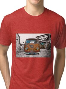 VW Split Screen Tri-blend T-Shirt