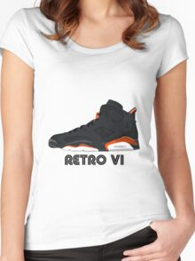 Retro VI Women's Fitted Scoop T-Shirt