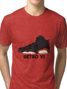 Retro VI Tri-blend T-Shirt