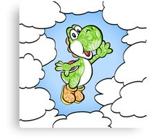 Yoshi in the sky ! Canvas Print