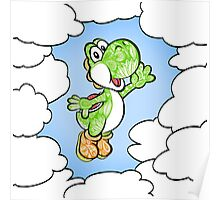 Yoshi in the sky ! Poster