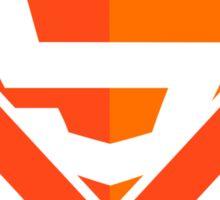 HTML5 Superhero Sticker