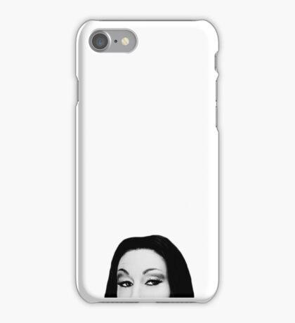 Curious Morticia iPhone Case/Skin