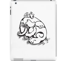 White Elephant iPad Case/Skin