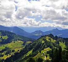 The Gorgeous Austrian Alps by Jennifer Lyn King
