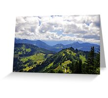 The Gorgeous Austrian Alps Greeting Card