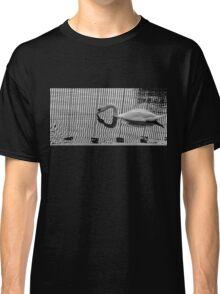 Stripe Swan Classic T-Shirt