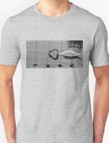 Stripe Swan Unisex T-Shirt