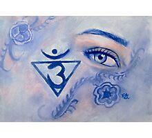 Blue Chakra Photographic Print