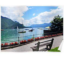 Lake Wolfgang, Austria Poster