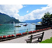 Lake Wolfgang, Austria Photographic Print