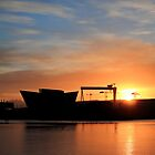 Harland & Wolff Sunrise by Wrayzo