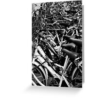 Bicycles, Florence, Italy Greeting Card
