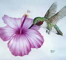 Morning Nectar by Rebecca Glaze