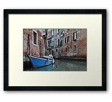 Venice Charm Framed Print