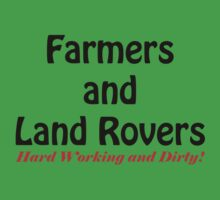 Farmers and Land Rovers - Hard Working and dirty! by SwampDogPhoto