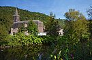"Trooz Village and ""La Vesdre"" River - Belgium by Jeremy Lavender Photography"