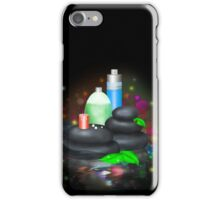 Bottles of SPA cosmetic iPhone Case/Skin