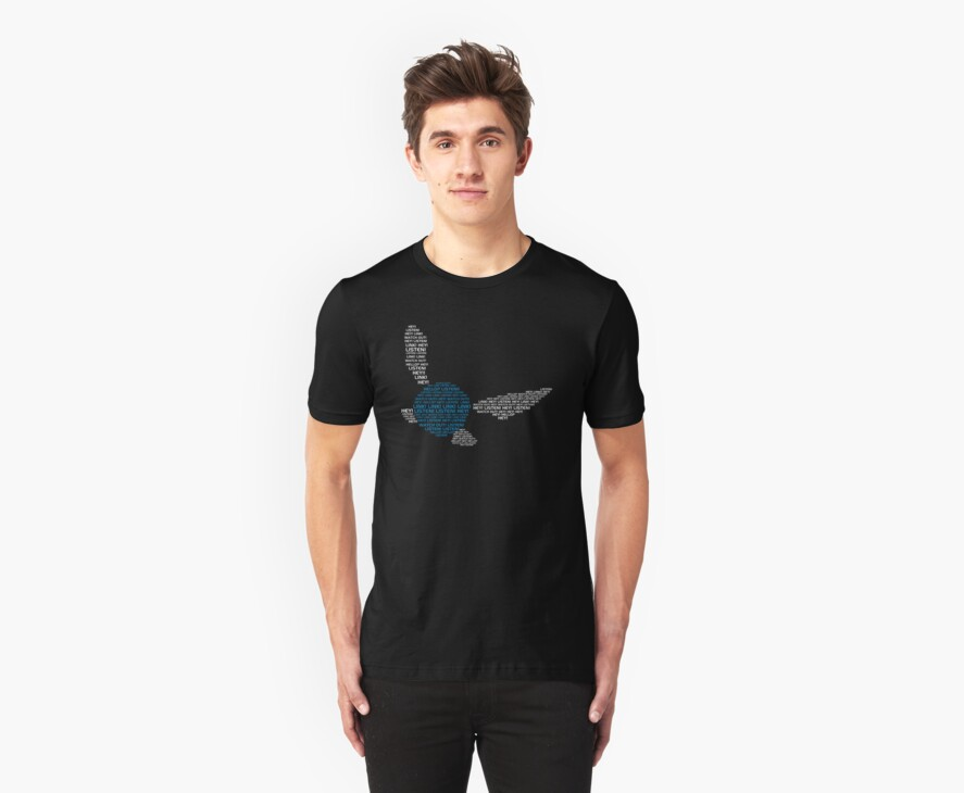 Navi Quote Tee by TooManyPixels