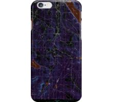 USGS Topo Map  Vermont VT Crystal Lake 337388 1986 24000 Inverted iPhone Case/Skin