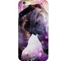 Horse in the Small Magellanic Cloud iPhone Case/Skin