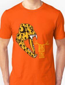 BEAST INK    SKULL OF GOLD Unisex T-Shirt