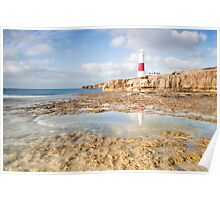 Portland Bill Reflections Poster