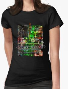 Hacker clothes design Womens Fitted T-Shirt