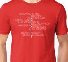 Liverpool Legends Unisex T-Shirt
