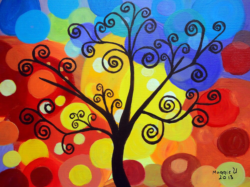 Abstract tree 6 by maggie326