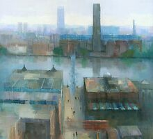 London Cityscape by Stephen Mitchell