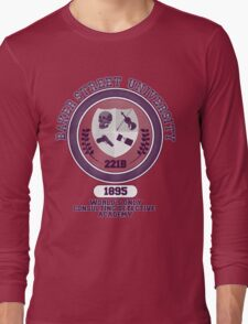 Baker Street University Long Sleeve T-Shirt
