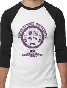Baker Street University Men's Baseball ¾ T-Shirt
