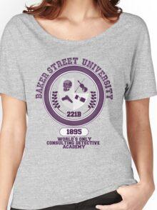 Baker Street University Women's Relaxed Fit T-Shirt