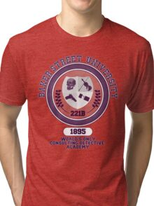 Baker Street University Tri-blend T-Shirt