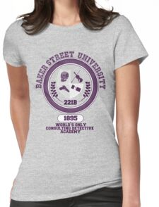 Baker Street University Womens Fitted T-Shirt
