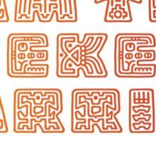 Weekend Warrior Sticker