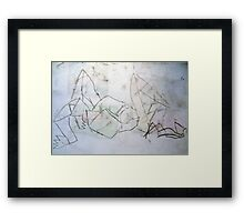 Reclined Figure  Framed Print