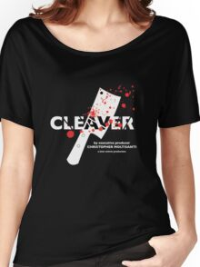 """The Sopranos presents """"Cleaver"""" Women's Relaxed Fit T-Shirt"""