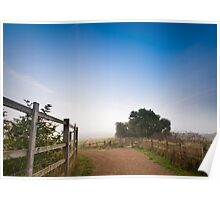 Upton Country Park in the Morning Poster