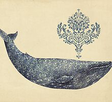 The Damask Whale  by Terry  Fan