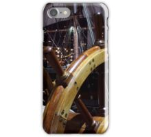 At the Helm iPhone Case/Skin