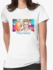 Thursday Mixtape Womens Fitted T-Shirt