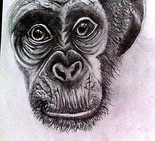 My monkey by Estelle-Rose
