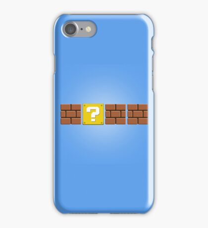 Mario Blocks iPhone Case/Skin