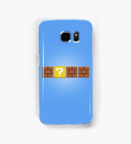 Mario Blocks Samsung Galaxy Case/Skin