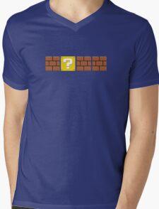 Mario Blocks Mens V-Neck T-Shirt