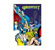 Retro - Arcade Gauntlet (1985) Art Print