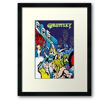 Retro - Arcade Gauntlet (1985) Framed Print